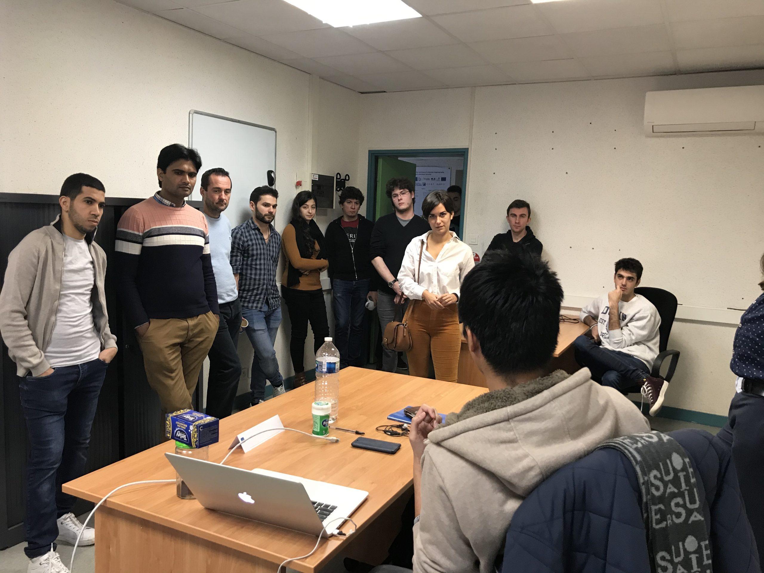 Pré-JIDAP Novembre 2019